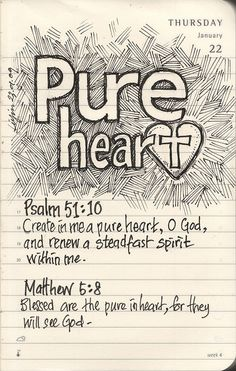 """Bible Journaling: love the simplicity, the daily scripture recorded, my daily walk with my Lord. a place to """"journal"""" outside of my Bible. My Bible, Bible Scriptures, Bible Quotes, Scripture Art, Scripture Lettering, Scripture Journal, Bible Art, Art Journaling, The Words"""