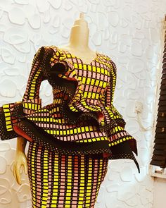 Here are some lovely ankara skirt and blouse that will make you look good for any event. They come in different styles and designs just to give you that awesome look you need. African Dresses For Kids, Latest African Fashion Dresses, African Dresses For Women, African Print Fashion, African Attire, African Prints, African Lace Styles, Ankara Styles, African Style
