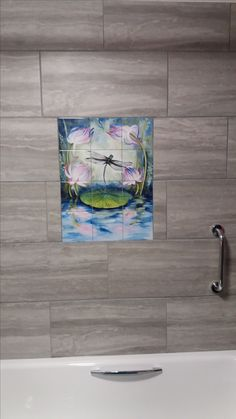 Decorative Wall Tile Murals Humpback Family  Tile Mural Our Dolphin Tile Murals And Our Tiles