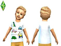 My very first t-shirt for toddlers!  Found in TSR Category 'Sims 4 Toddler Female'