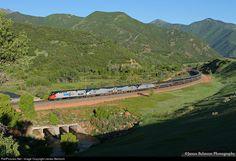 RailPictures.Net Photo: AMTK 156 Amtrak GE P42DC at Castilla, Utah by James Belmont