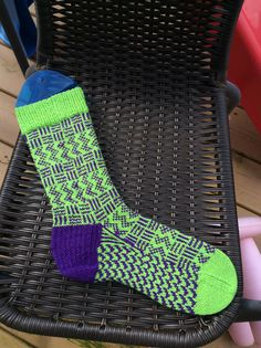 Ravelry: Toxic Sox pattern by Haleigh Morgan