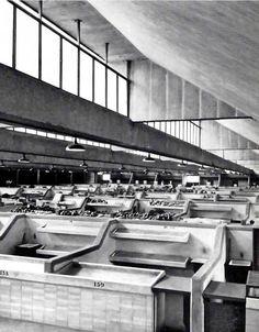 Mercado de San Lucas, Cuauhtémoc, México DF 1956    Arq. José Villagrán García