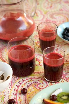beetroot, carrot, apple and ginger juice