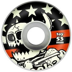 Toy Machine Vice Dead Monster 53mm Wheels. Durometer: 100a | Diameter: 53 mm