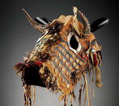 Native American horse masks-New sculpture - Desert Raven Art Native American Masks, Native American Horses, Native American Pictures, Native American Artifacts, Native American Beading, Native American History, Horse Mask, Indian Horses, Horse Costumes