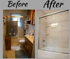 Bathroom Remodel Bathroom Makeover Bathroom Before And After
