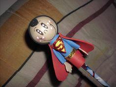 Ponteira Em EVA Super-Homem