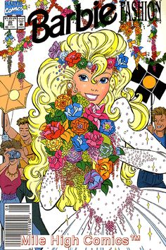Barbie Fashion (marvel) Series) Near Mint Comics Book Vintage Comic Books, Vintage Cartoon, Vintage Comics, Vintage Posters, Vintage Art, Dress Barbie, Barbie 90s, Barbie Stuff, Caleb