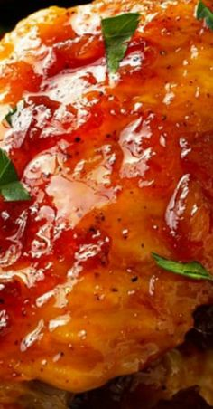 These baked chicken wings are basted in a homemade Caribbean pineapple sauce, then roasted to perfection in the oven. A mouthwatering appertizer or meal! Best Appetizers, Appetizer Recipes, Dinner Recipes, Dessert Recipes, Baked Chicken Wings, Chicken Wing Recipes, Cooking Recipes, Top Recipes, Turkey Recipes
