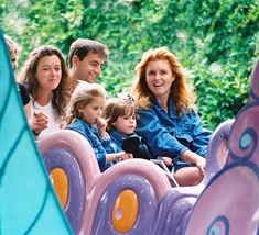 Fast-forward to 1995 when Sarah, Duchess of York, took Princess Beatrice and Princess Eugenie on Alice in Wonderland in Disneyland, California