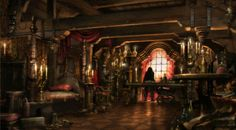 pirate ship interiors | Blackbeard's cabin - Pirates of the Caribbean Wiki - The Unofficial ...