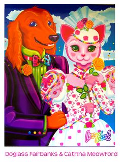 I first heard about Lisa Frank art from my woman . She has been a big fan since her teens. Lisa Frank , is an American artist and de. Cat Wedding, Wedding Book, Wedding Ideas, Lisa Frank Notebook, Lisa Frank Stickers, Childhood Memories 90s, Rainbow Colors, Dog Cat, Pin Up