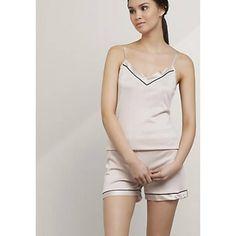 Pyjama-Shorty aus Bio-Baumwolle mit Seide - Hess Natur-Textilien GmbH