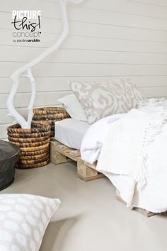Havens South Designs likes the many uses of recycled palettes
