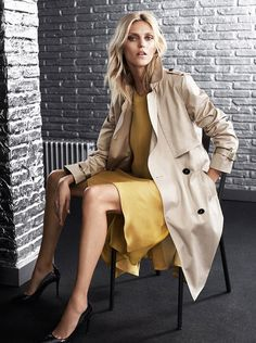 Anja Rubik for Massimo Dutti The 689 5th Avenue Collection Limited