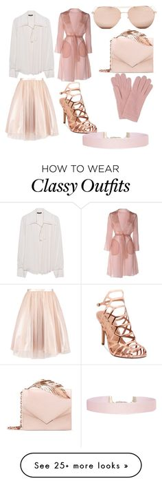 """""""winter classy outfit"""" by chamsdaghsni on Polyvore featuring Linda Farrow, RALPH & RUSSO, Plein Sud, Madden Girl, MaxMara, L.K.Bennett and Humble Chic"""