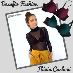 """👉Desafiamos a #fashionblogger gaúcha Flávia Carboni a montar um look """"outwear"""" (deixando a lingerie à mostra) com uma peça da nossa loja virtual! Ela escolheu este modelo lindo da De Chelles, em veludo, e combinou com a blusa em transparência. Ficou super elegante e moderno!😍  E vocês, o que acharam do visual?  www.pourlesdames.com.br    #ootd #look #outwear #fashionblogger #rsbloggers #fashion #transparencia #visual #ootn #lingerie #underwear #pourlesdames"""