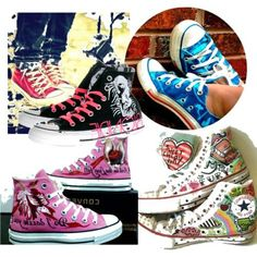 Converse Chuck Taylor shoes - because they're fun