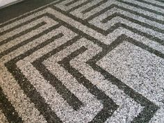 detailed terrazzo floor Nh Carlina Torino