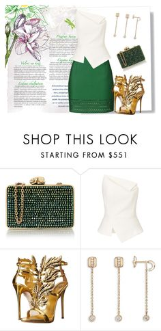 """Ready- you?"" by dollie-stoudemire-mccall on Polyvore featuring Jovonna, Wilbur & Gussie, Roland Mouret, Giuseppe Zanotti and Piaget"