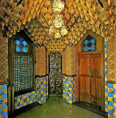 Casa Vicens / Others Materials / Smoking Room