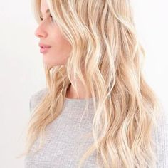 Warm Blonde Hair Shades Perfect for Brightening Your Locks This Spring Summer Blonde Hair, Blonde Layered Hair, Pale Blonde Hair, Blonde Layers, Golden Blonde Hair, Strawberry Blonde Hair, Blonde Hair With Highlights, Bleach Blonde, Blonde Shades