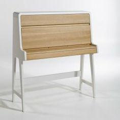 Secrétaire Glenn, design E. Gallina 560 Euros / L: 110 Table Desk, Table Furniture, Home Furniture, Furniture Design, Furniture Shopping, Hidden Desk, Work Station Desk, Kid Desk, Decoration