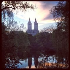 Central Park at Sunset (NYC)