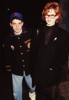 Molly Ringwald and AD Rock!