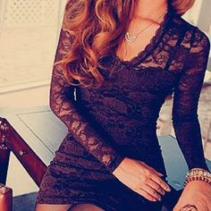 perfect LBD: a little classy, a little sultry
