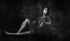 A Girl With An Empty Basket Ii by Oleg Ferstein on Art Limited