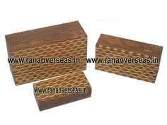 Rana Overseas leading manufacturer, exporter and supplier of Wooden Carved Box, Wooden Box, Wooden Brass Inlay Box, Wooden Antique Box, Wooden beaded Box, Wooden Round Box, Wooden Square Box, Wooden hand carved box, Wooden wood inlay Box, Wooden money Bank box, Wooden card box, Wooden music box, Wooden white Inlay Box, wooden octagnol box, wooden hexagon box, Wooden card box, Wooden Ring Box, Wooden jewellery Box, Wooden organic box, Wooden handcrafted box, Wooden treasures, Sheesham Wood…
