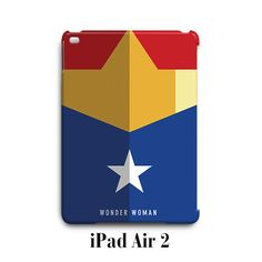 Wonder Woman DC Comic iPad Air 2 Case Cover Wrap Around