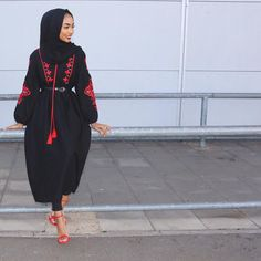 Last one 🙈 If only you guys knew what happened after that 😭😂 – Hijab Fashion Hijab Fashion 2016, Modern Hijab Fashion, Hijab Fashion Inspiration, Islamic Fashion, Muslim Fashion, Modest Fashion, Fashion Outfits, Modest Wear, Modest Outfits