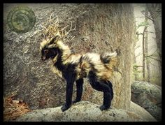 SOLD- HAND MADE Poseable Woodland Guardian! by Wood-Splitter-Lee