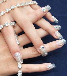 Clear with jewels