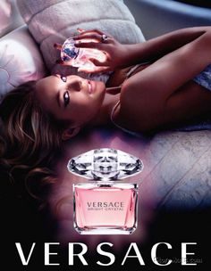 The Perfume Girl - Fashion Perfumes. Fragrances and perfumes and colognes from fashion and perfume designers. Fragrance resource, perfume database, and advertisement historical records. Perfumes Versace, Versace Versace, Versace Fragrance, Gianni Versace, Anuncio Perfume, Perfume Adverts, Versace Bright Crystal, Christian Dior, Fragrance Samples