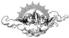 "ángeles guardianes y tu misión de vidaTus ángeles guardianes y tu misión de vida ""Antique engraving of two cherubs, isolated on white. Very high XXXL resolution image scanned at 600 dpi. Antique Style Sun with Face of Apollo by croisy Tattoo Sketches, Tattoo Drawings, Body Art Tattoos, Small Tattoos, Art Drawings, Tatoos, Tattoo Art, Cherub Tattoo, Cupid Tattoo"