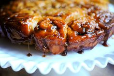 Caramel Apple Sticky Buns...I've made the original Cinnamon Roll recipe.  If these are even half as good...Oh Lordy!