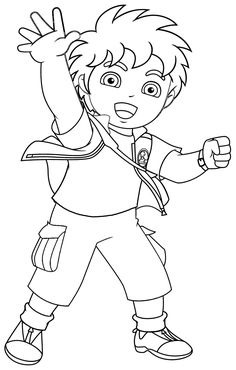 Free Printable Coloring Pages For Children Diego See the category to find more printable coloring sheets. Also, you could use the search box to find w. Dora Coloring, Easter Coloring Pages, Pokemon Coloring Pages, Halloween Coloring Pages, Cool Coloring Pages, Cartoon Coloring Pages, Animal Coloring Pages, Coloring Pages To Print, Coloring Books