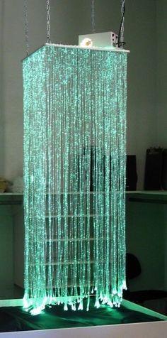 Fiber Optic Waterfall