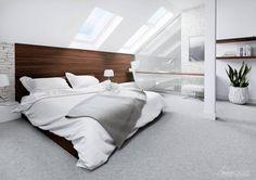 Dormitorios de estilo moderno por HomeKONCEPT | Projekty Domów Nowoczesnych
