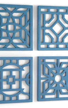Geometric Wall Art Tiles.
