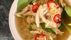 Chicken Soup with Orzo and Spinach Recipe | The Chew - ABC.com