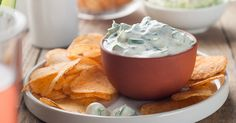 This Refreshing Cream Cheese Cucumber Dip Is a Perfect Warm Weather Snack