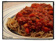 Full vedge - Recettes végétariennes et gourmandes!: Sauce à spaghetti végétarienne