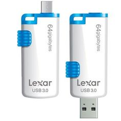 *BW* Pen Drive 64GB Lexar Flash USB 3.0 JD. M20 Mobile LJDM20 -D