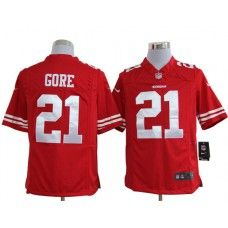 e421ec57b Nike Mens San Francisco 49ers Frank Gore Jersey 21 Game Team Color Red  Cardinals Jersey
