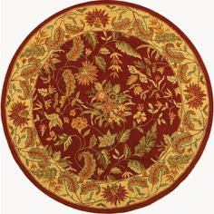 Charlton Home Helena Floral Area Rug Rug Size:
